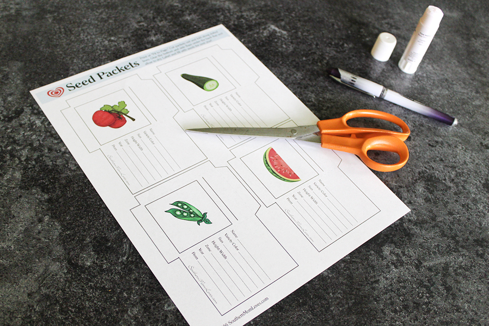 Southern Mom Loves: Garden Heirloom Seed Packet {Free Printable!}