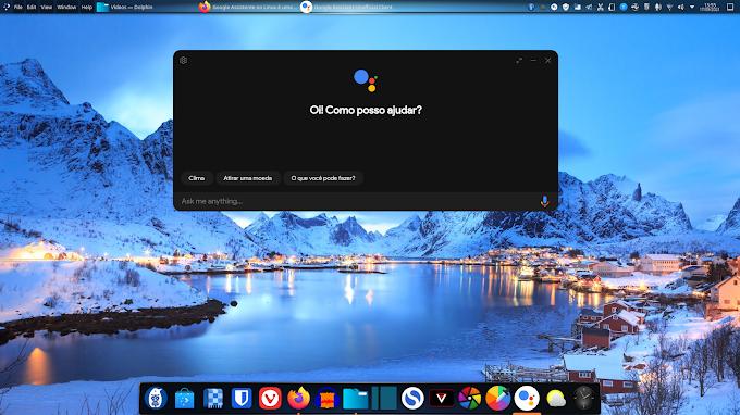 Instalando a Google Assistente no Linux!
