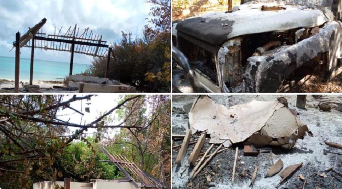 L'île de Vamizi prise en otage par des islamistes : Hôtels et villas brûlés