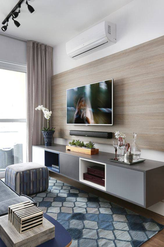 Living Room Tv Wall Units: 50 Creative Living Room Ideas To Incorporate Wall-mounted