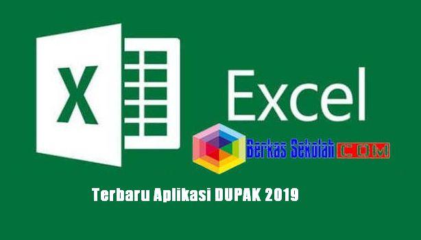 Terbaru Aplikasi DUPAK 2019