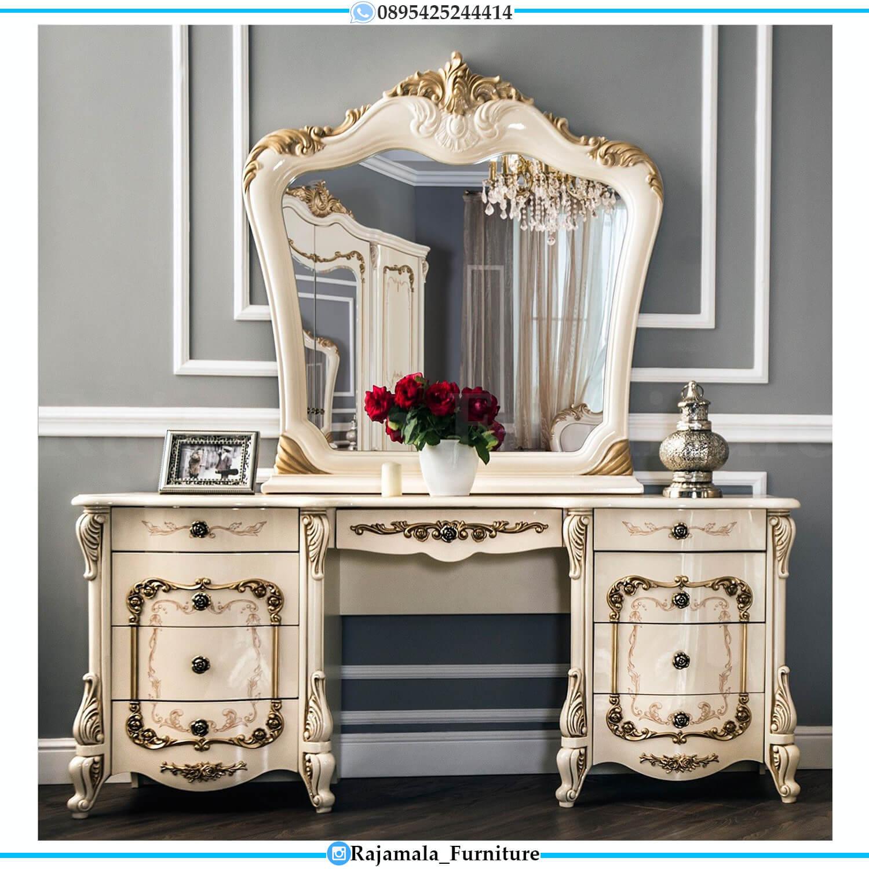 Jual Meja Rias Mewah Terbaru Luxury Carving Furniture Jepara RM-0487