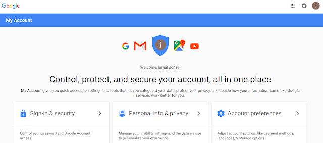 pendaftaran gmail milikmu sudah selesai