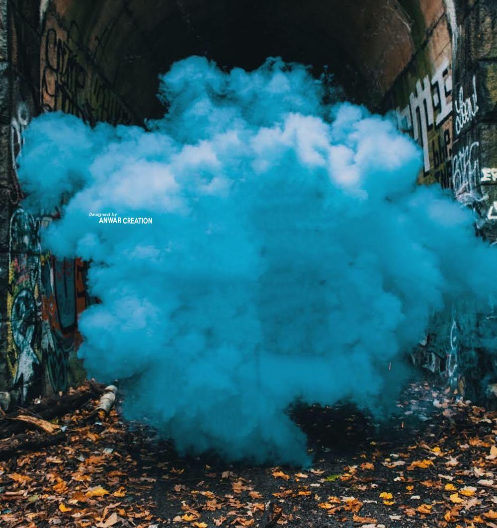 Smoke effect in picsart (edit like Danish zehen) - Anwar