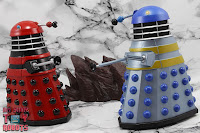 Custom TV21 Red Dalek Leader 24