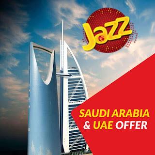 Jazz saudi arabia call package -Jazz Dubai Saudi Arabia Call Packages