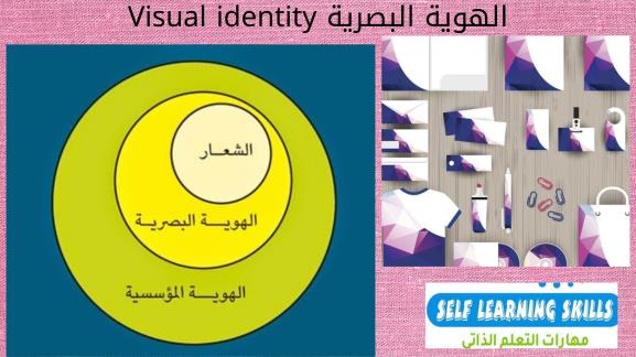 الهوية البصرية Visual identity