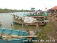 Pesona Indramayu : Sandaran Perahu Cemara