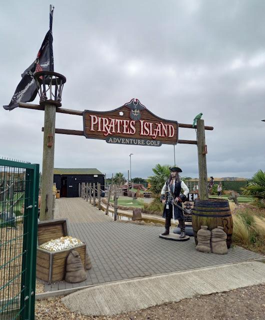 Pirates Island Adventure Golf at Norfolk Premier Golf in Blofield, Norfolk