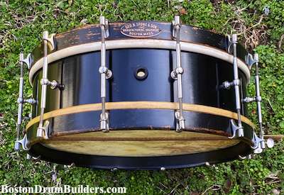 1925 George B. Stone & Son Separate Tension Orchestra Drum