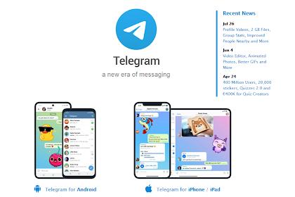 Cara Menonton Film & Drakor di Telegram
