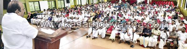 News, Uppala,Kasaragod, Kodiyeri Balakrishnan, Muslim-league, Congress, LDF, BJP, Kodiyeri against Congress