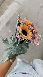 باقات زهور الزينة