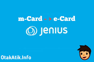Cara Top Up e-Card Jenius dari m-Card Jenius