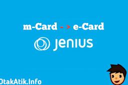 Cara Top Up e-Card Jenius dari m-Card Jenius