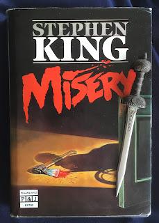 Portada del libro Misery, de Stephen King