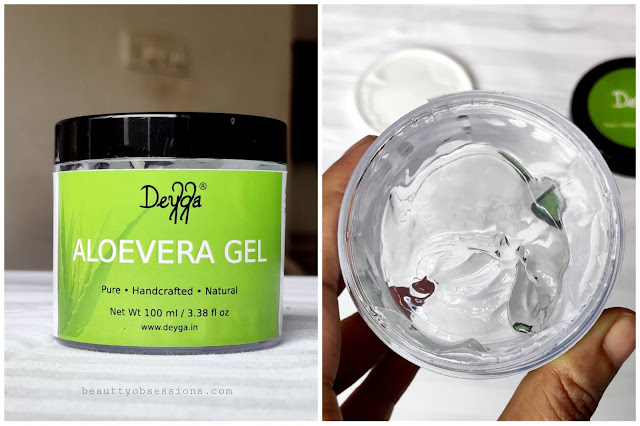 Aloe Vera gel from brand Deyga