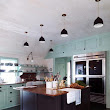 interiors: colorful kitchens
