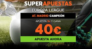 888sport Europa League super apuestas Marsella vs Atletico 16 mayo