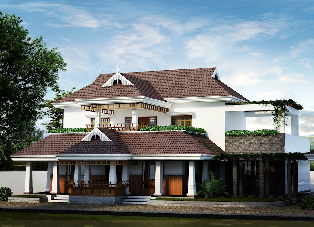 This traditional Kerala style home in Kochi is unique