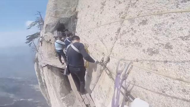 Monte HuaShan - China