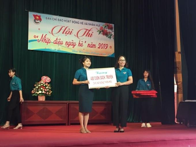 Thành đoàn Chí Linh tích cực tham gia xây dựng  đời sống văn hóa  tại xã Nông thôn mới