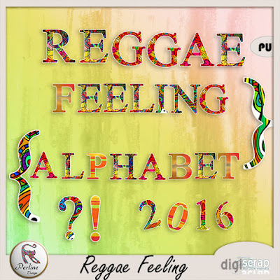 Reggae Feeling Kit, quickpages and collection by PerlineDesign
