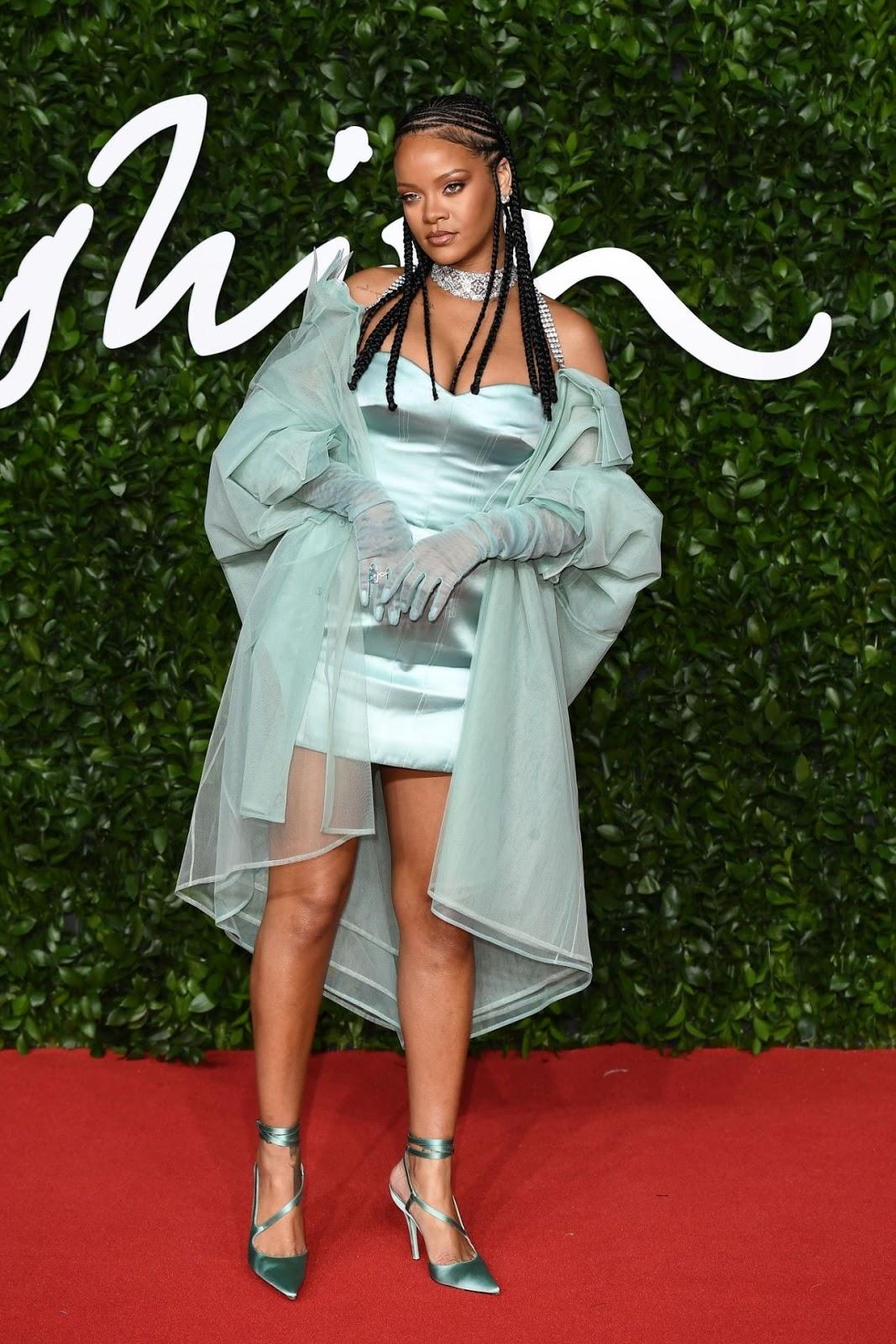 Rihanna slays in Fenty at the 2019 British Fashion Awards in London