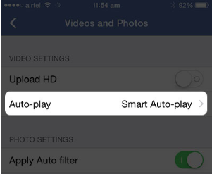How To Turn Off Videos On Facebook