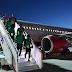 Un moteur de l'avion transportant l'équipe d'Arabie Saoudite à Rostov a pris feu