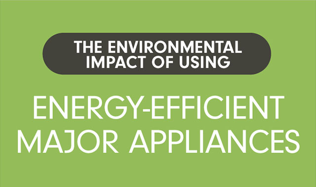The Environmental Impact of Using Energy-Efficient Major Appliances