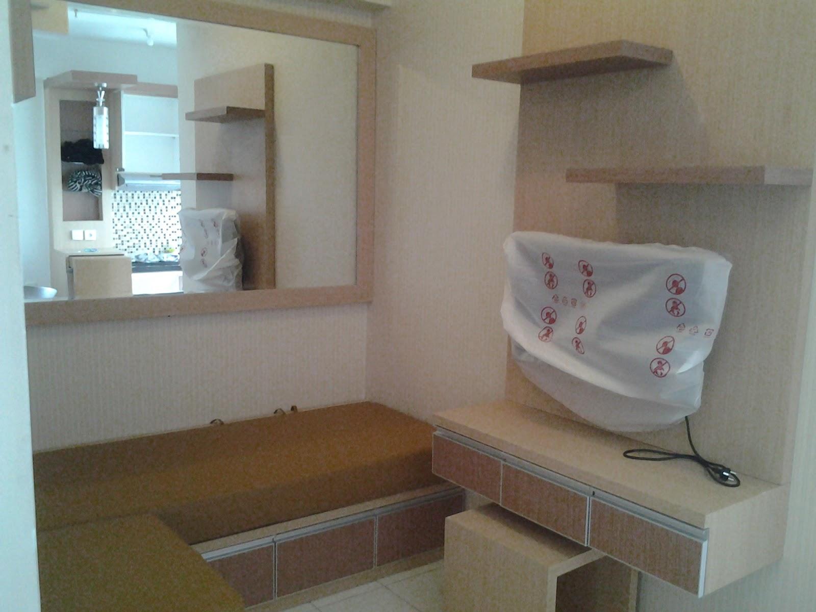 cv tridaya interior interior apartemen studio murah