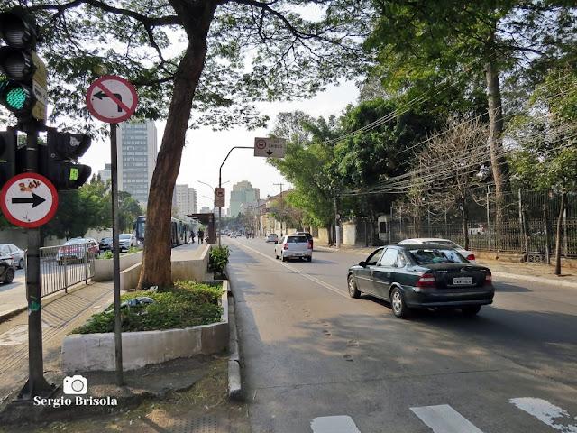 Vista de trecho da Avenida Rio Branco - Campos Elíseos - São Paulo