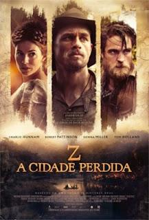 Review Z: A Cidade Perdida