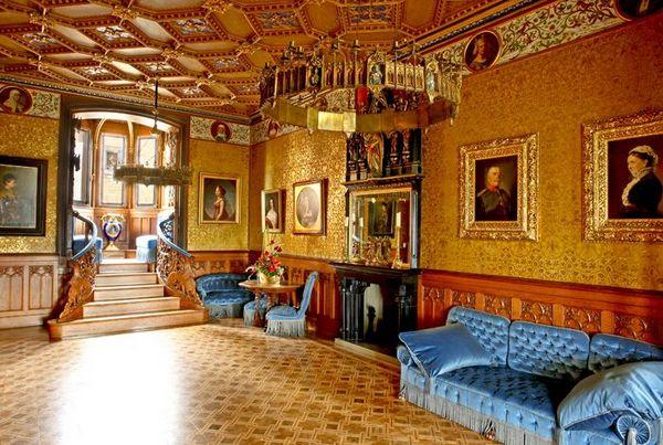 Salón Azul (Castillo Hohenzollern, Alemania)