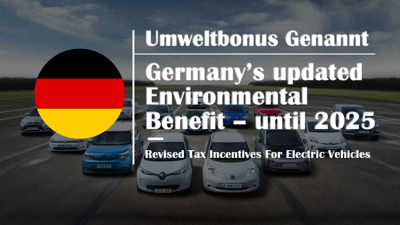 Umweltbonus-germany-ev-incentive-revised