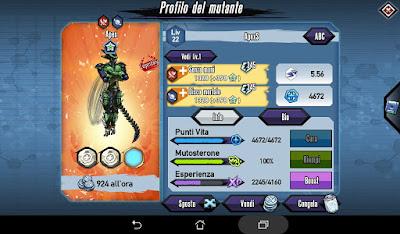 Mutants: Genetic Gladiators Breeding video N°207 (Apex - Warrior)