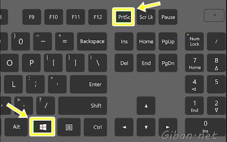 Cara Membuat Screenshot Layar Windows 10