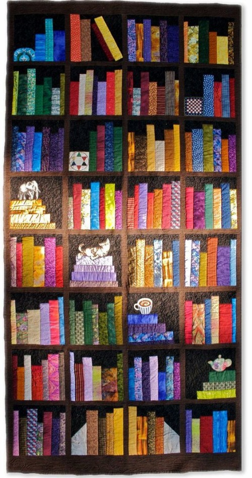 Bookcase Quilt - Free Pattern