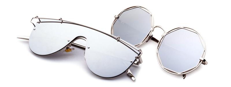 Óculos Flat Sunnie Cinzas
