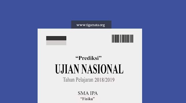 Prediksi Soal UN/UNBK Fisika SMA 2019 dan Kunci Jawaban
