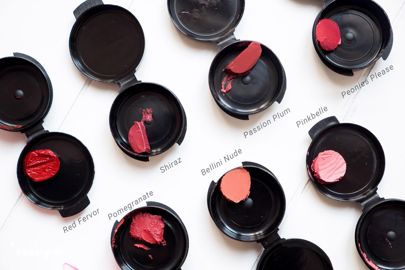 ARIA Pure Lipsticks von Hynt Beauty / Lippenstift vegan, natürlich / Swatches, Tragefotos