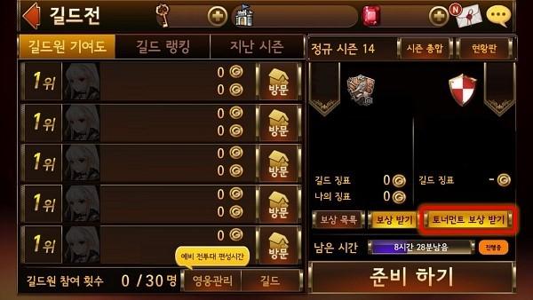 Tournament compensation