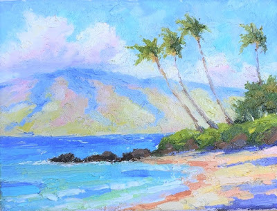 """Maui Days"" Small Painting"
