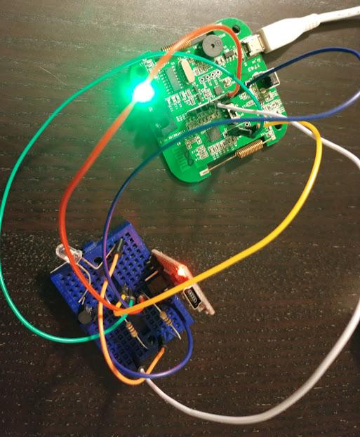 Adding infrared emitter to SONOFF RF BRIDGE