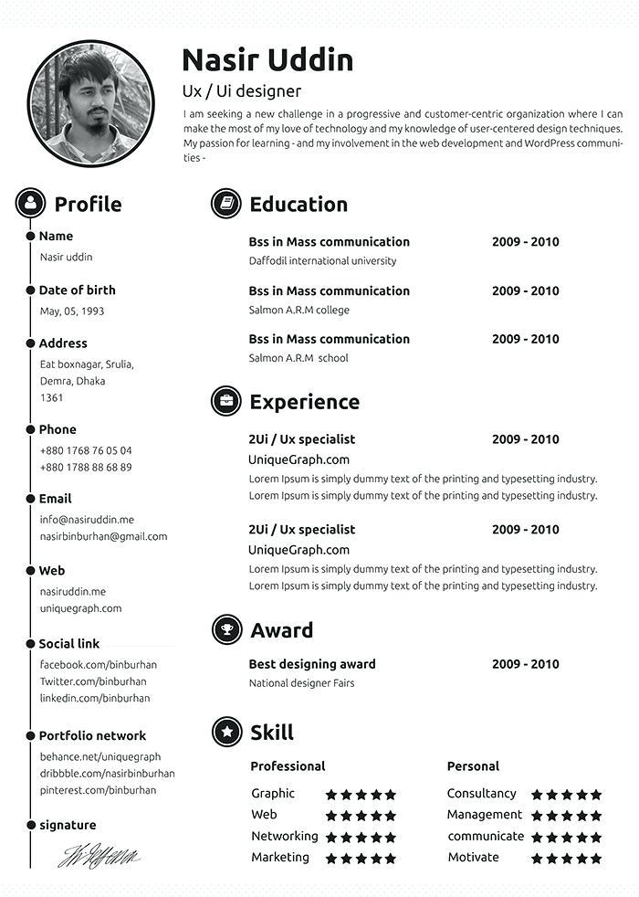 Professional Resume Samples 2019 Resume Templates
