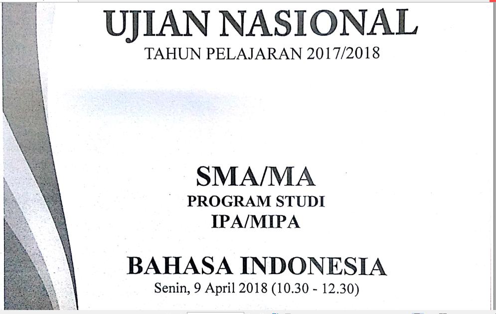 Zuhri Indonesia Pembahasan Soal Un Sma Ma Bahasa Indonesia Nomor 29 Penulisan Nama Geografi Zuhri Indonesia