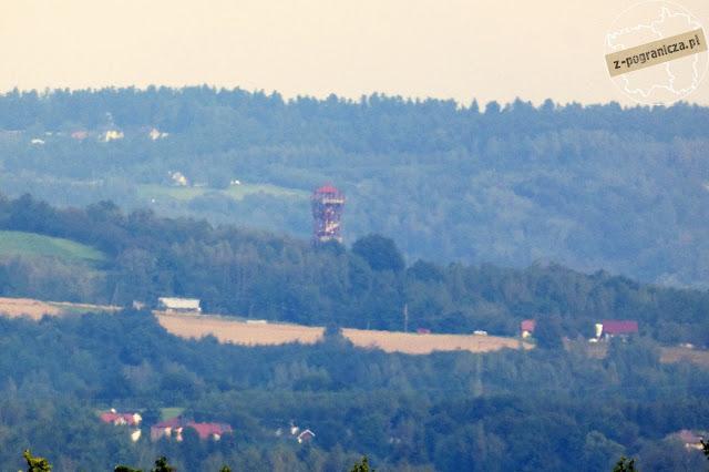 wieża widokowa Trzcinica Karpacka Troja