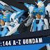 HGBF 1/144 A-Z Gundam Sample Images by Dengeki Hobby