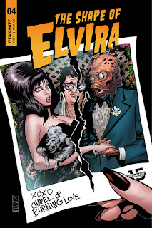 Cover C for The Shape of Elvira #4 from Dynamite Entertainment